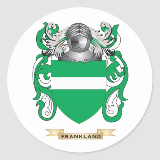 Frankland Coat of Arms Sticker