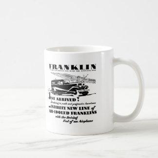 Franklin 1929 automobile ad Mug