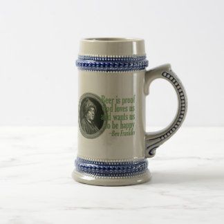 Franklin Beer Quote Coffee Mug