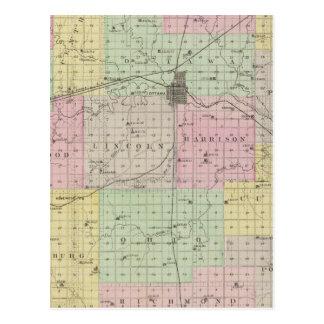 Franklin County, Kansas Postcard