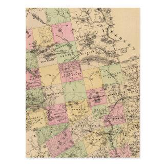 Franklin County, Maine Postcard