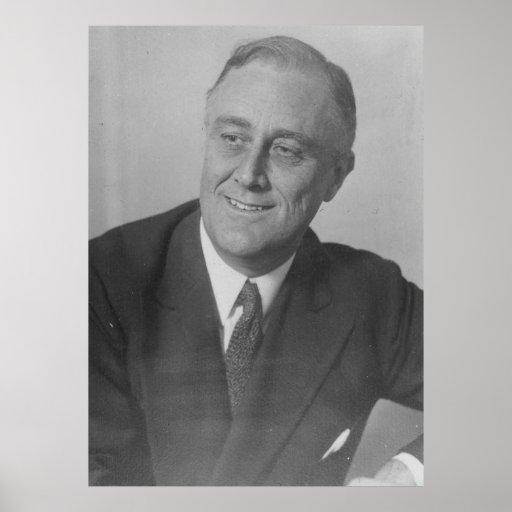 FRANKLIN D. ROOSEVELT 1924 National Archives Photo Poster