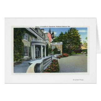 Franklin D Roosevelt's House Card