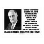 Franklin Delano Roosevelt Civil Rights Citizens