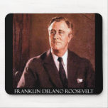 Franklin Delano Roosevelt Customisable Products Mouse Mat