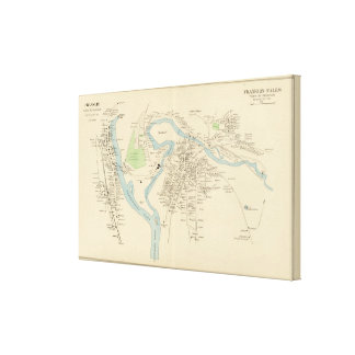 Franklin, Franklin Falls Canvas Print