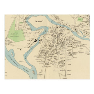 Franklin, Franklin Falls Postcard