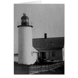 Franklin Island Lighthouse Greeting Card