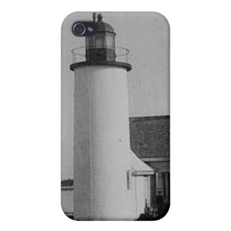 Franklin Island Lighthouse iPhone 4/4S Cases