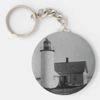 Franklin Island Lighthouse Key Chains