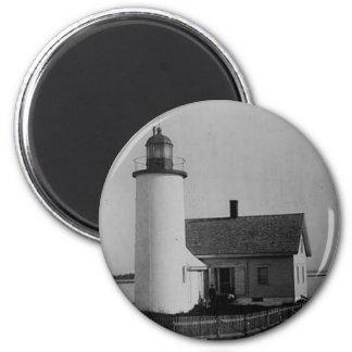 Franklin Island Lighthouse Fridge Magnet
