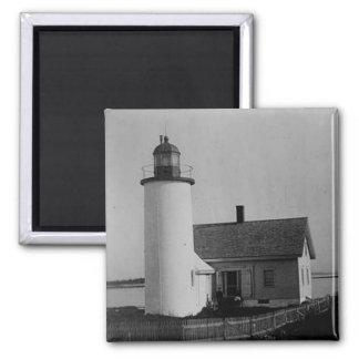 Franklin Island Lighthouse Magnet