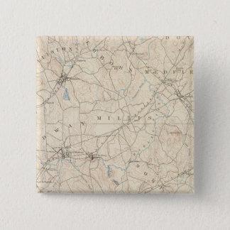 Franklin, Massachusetts 15 Cm Square Badge