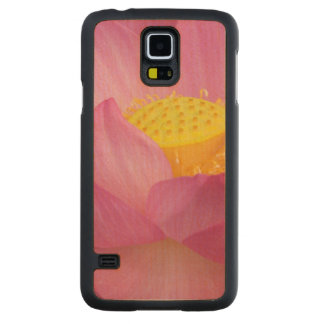Franklin NC, Perry's Water Garden, Lotus 2 Carved Maple Galaxy S5 Case