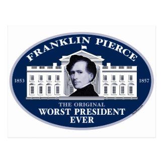 Franklin Pierce The Original Worst President Ever Post Cards