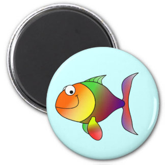 Franklin the Funky Fun Cartoon Fish Magnet