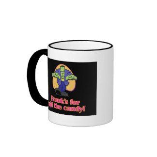 Frank's for all the candy ringer mug