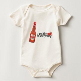 Frank's RedHot Baby T Baby Bodysuit