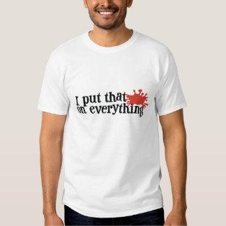 Frank's RedHot Tagline Shirts