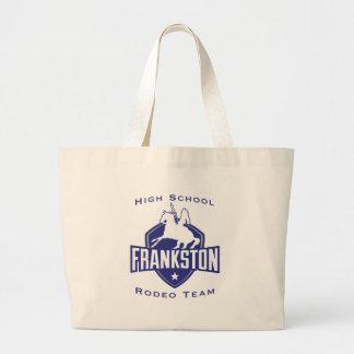 Frankston High School Rodeo Team Large Tote Bag