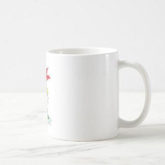 FranktheChickenwellybootsoutline Coffee Mug