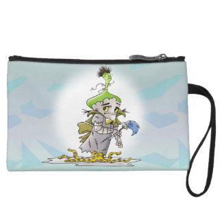 FRANKY BUTTER ALIEN  Mini Clutch bag
