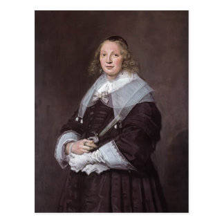 Frans Hals- A Dutch Lady Postcards