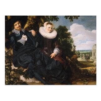 Frans Hals Art Post Card