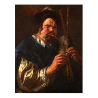 Frans Hals Art Postcard