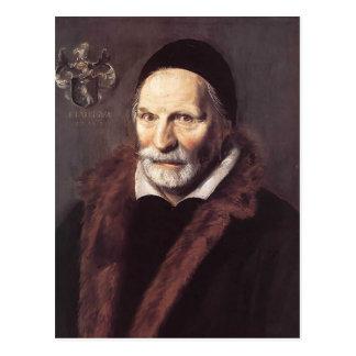 Frans Hals- Jacobus Zaffius Postcard