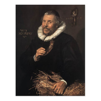 Frans Hals- Pieter Cornelisz. Van der Morsch Postcard