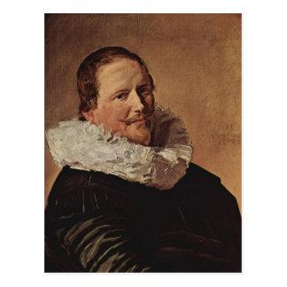 Frans Hals- Portrait of a Man Postcard