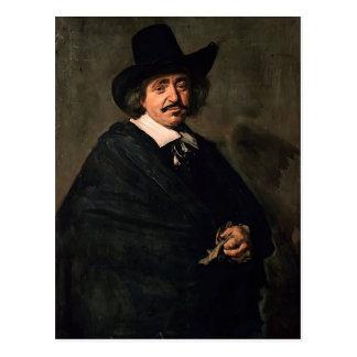 Frans Hals- Portrait of a Man Post Card