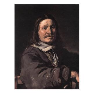 Frans Hals- Portrait of a Seated Man Postcards