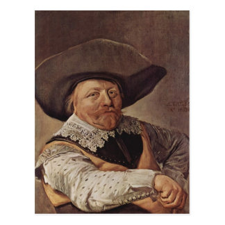 Frans Hals- Portrait of a seated officer Postcards