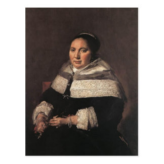 Frans Hals- Portrait of a Seated Woman Postcard