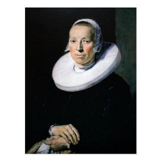 Frans Hals- Portrait of a woman Post Cards