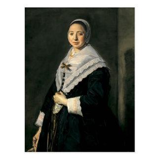 Frans Hals- Portrait of a woman Postcard