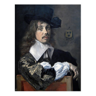 Frans Hals- Portrait of Willem Coymans Post Cards