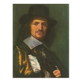 Frans Hals- The painter Jan Asselyn Post Card