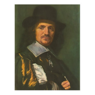 Frans Hals- The painter Jan Asselyn Postcards