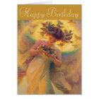 Franz Dvorak Angel of Birds CC0430 Birthday Card