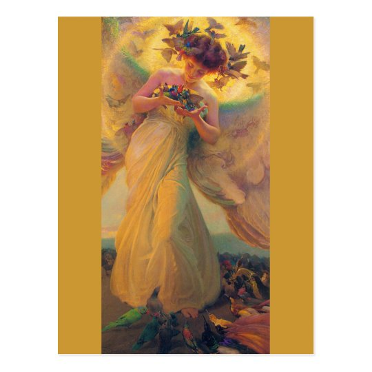 Franz Dvorak CC0420 Favourite Angel Postcard