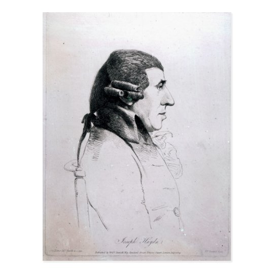 Franz Joseph Haydn, 1809 Postcard