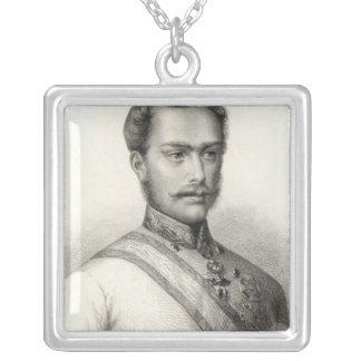 Franz Joseph I, Emperor of Austria 2 Silver Plated Necklace