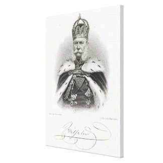 Franz-Joseph I of Austria Canvas Print