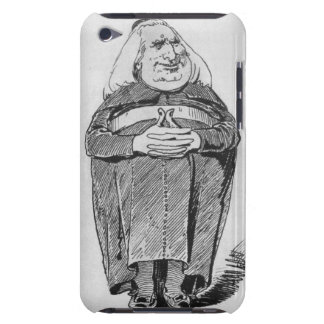 Franz Liszt (1811-86) as abbot, caricature from 'B Barely There iPod Case