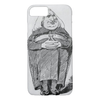 Franz Liszt (1811-86) as abbot, caricature from 'B iPhone 8/7 Case
