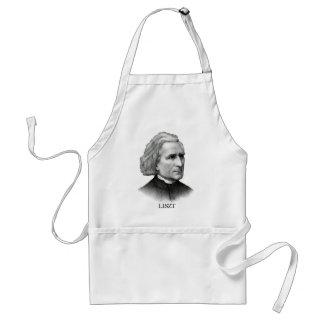 Franz Liszt, black Aprons