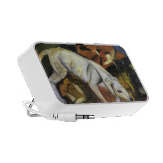 Franz Marc- A Dog iPhone Speakers